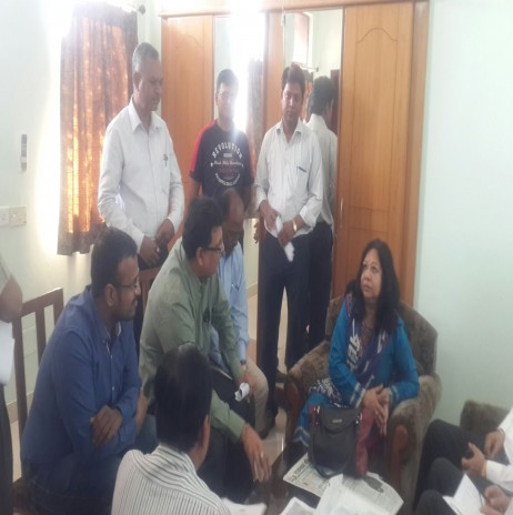MEETING WITH DIR HR AT AHMEDABAD